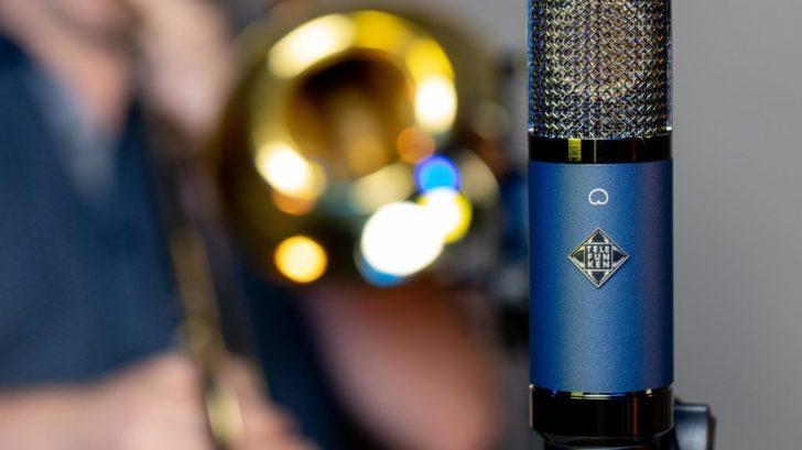 Премиальный конденсаторный микрофон для записи вокала - Telefunken TF11