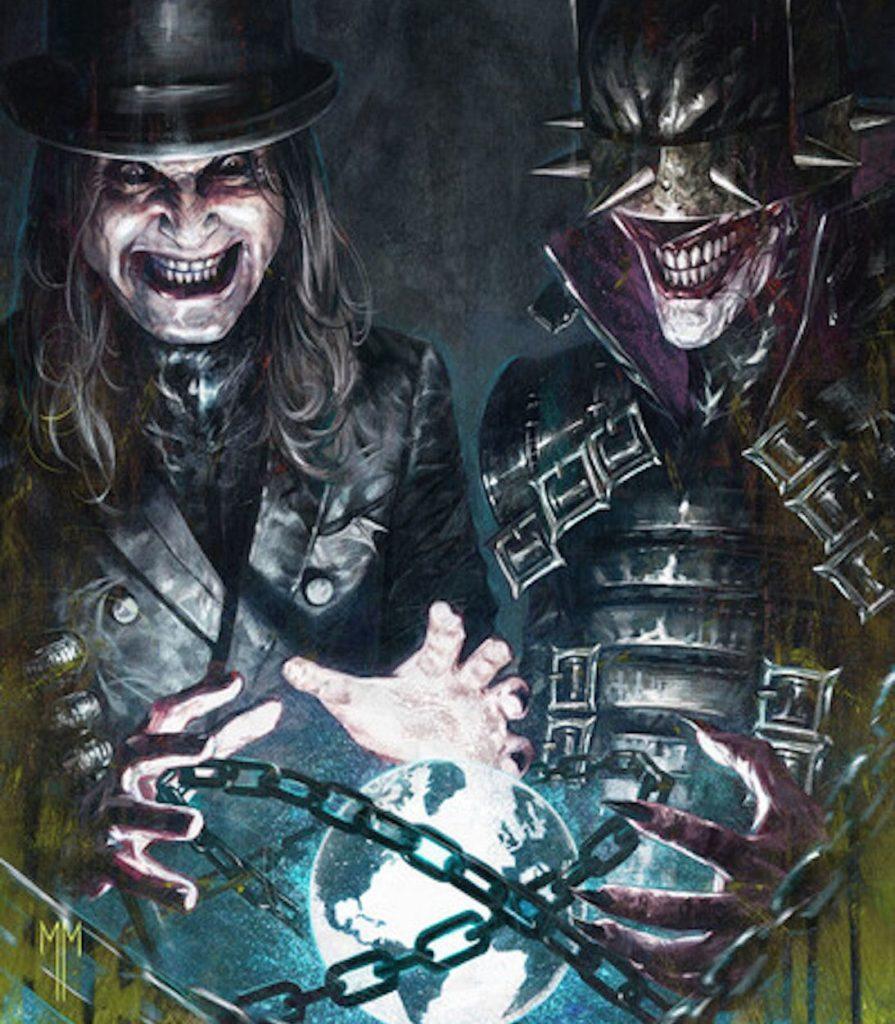 Megadeth, Ghost, Оззи Осборн и другие рок-музыканты украсят обложки комиксов о Бэтмене «Dark Nights: Death Metal Band Edition»