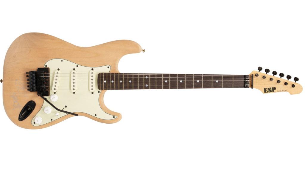 Гитару Кирка Хэмметта которая снималась в клипе Metallica «One» продали на аукционе
