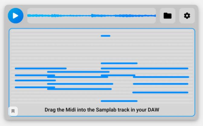 Samplab меняет высоту нот в любых аудиофайлах