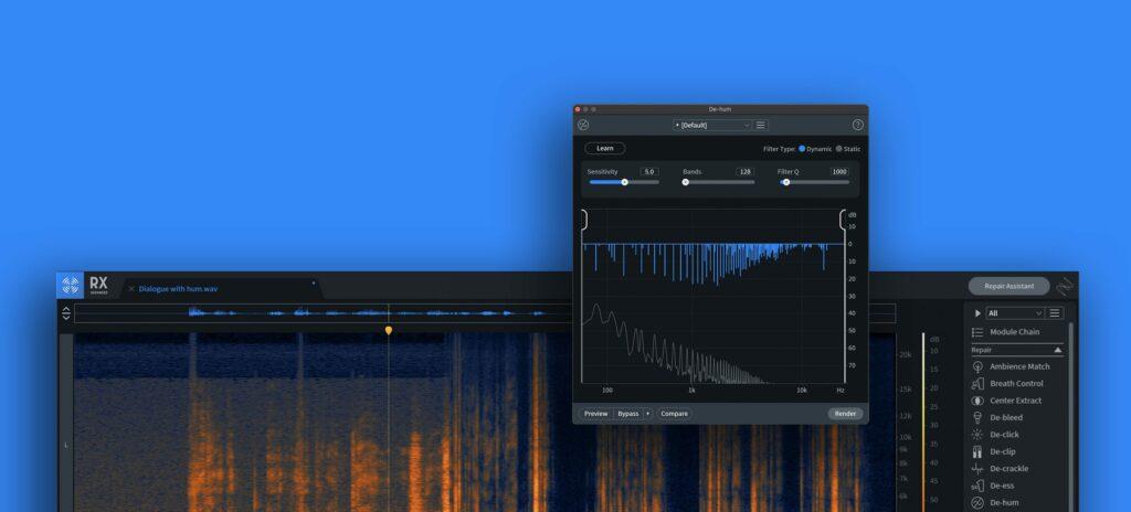 iZotope RX9 с новыми алгоритмами обработки и функцией «Undo»